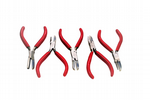 Pliers, Set of 5 Nylon Jaw Wire Forming Shaping Pliers Jewellery Making. J2030